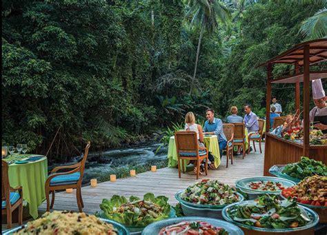 terrace river pool swing harga 17 restoran di bali dengan pemandangan luar biasa