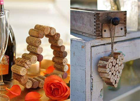 tischdeko mit korken basteln mit korken 30 kreative und einfache bastelideen