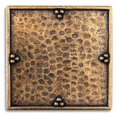 2x2 Metal Accent Tiles by Metal Tile Inserts For Backsplash Bestsciaticatreatments