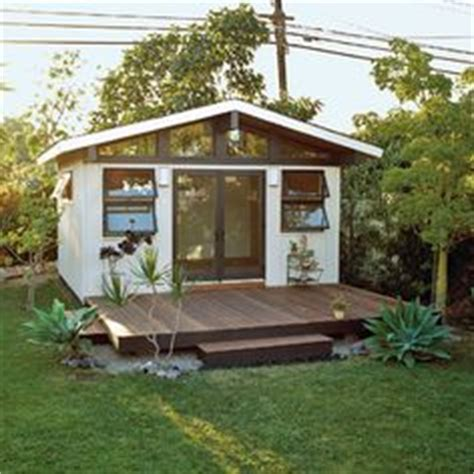 building a guest house in the backyard backyard retreat on pinterest studio shed modern shed and she sheds