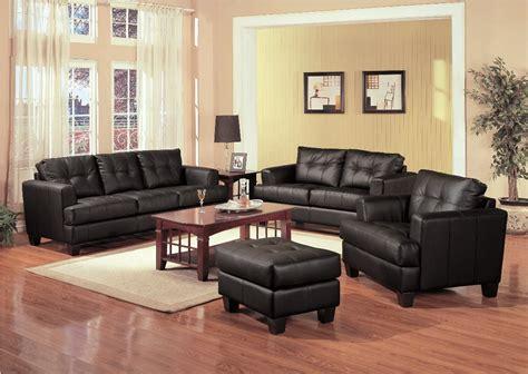 coaster leather sofa samuel black leather sofa 501681 coaster furniture