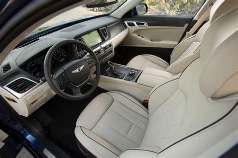 Genesis Auto Upholstery by 2015 Hyundai Genesis Sedan Interior Looking Inside Photo