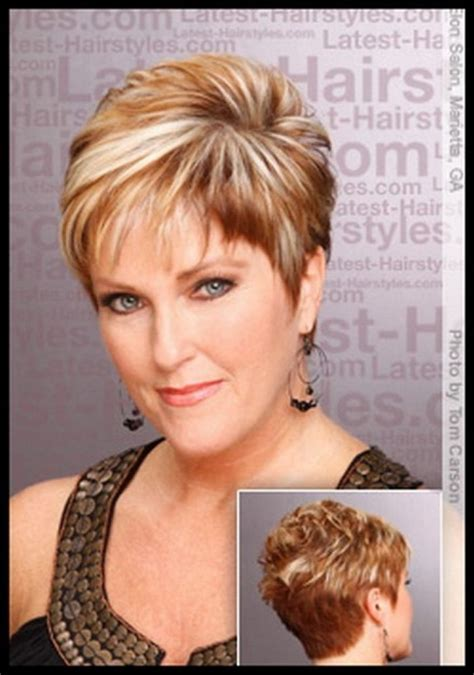 short hairstyles for the over50s short haircuts for women over 50