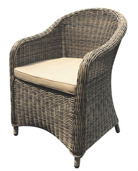 Wicker Patio Furniture Houston Aspen Wicker Dining Chair Houston Couture Outdoor
