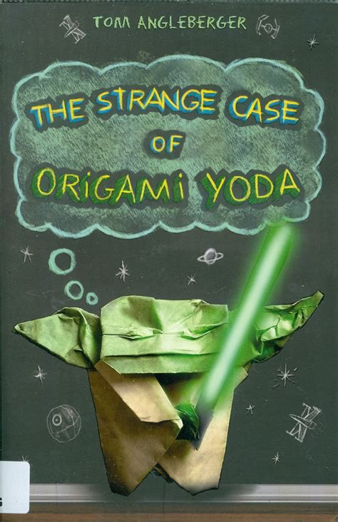 Origami Yoda Book - hutchesons grammar school primary library the strange