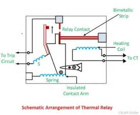 construction and working of thermal relay circuit globe