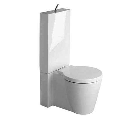 toilette starck duravit starck 1 coupled toilet with cistern seat 0233090064