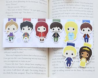 lunar chronicles watercolor bookmark cinder gift for lunar chronicles watercolor bookmark cinder gift for