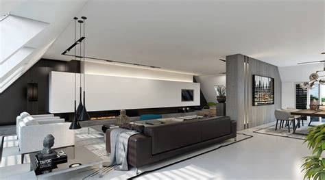 penthouse design ultramodern dusseldorf penthouse design by ando studio