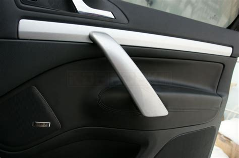 Interior Door Covers Octavia Ii Interior Door Handle Covers Brushed Aluminium Superskoda
