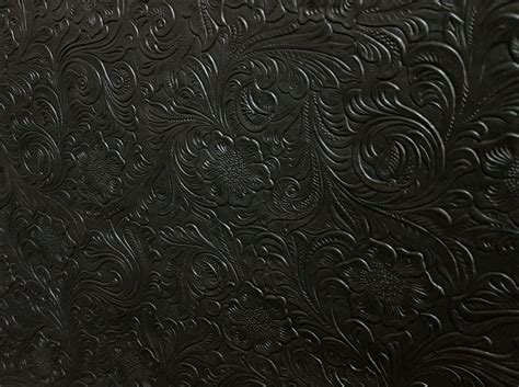 How To Sew Vinyl Upholstery Black Tooled Leather Look Vinyl T835