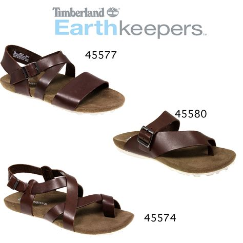 mens leather summer sandals mens timberland earth keeper leather city buckle brown summer sandal size ebay