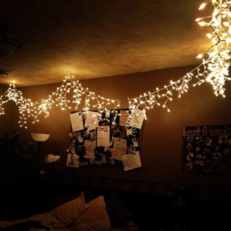 christmas lights in room bedroom ideas pinterest