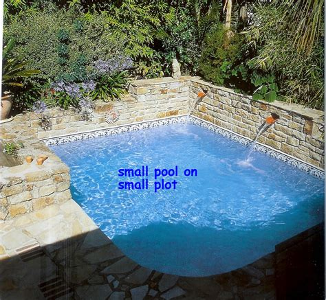small outdoor pools small corner pool almost square everyone repins