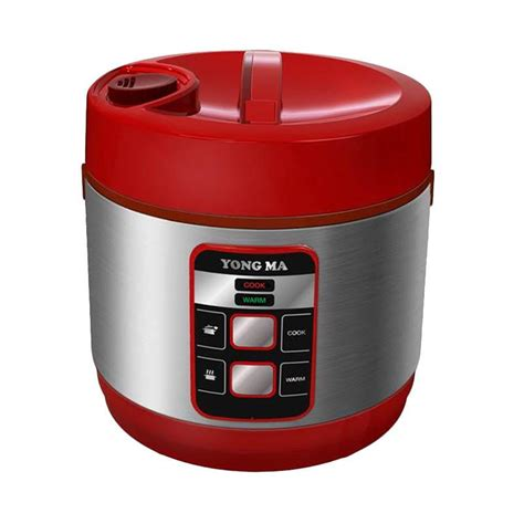 Panci Rice Cooker Yongma jual yong ma digital rice cooker 2 l ymc114 merah jd id
