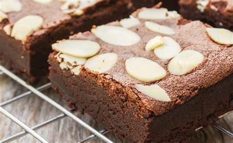 Brownies Almond chocolate almond brownies blue almond recipes