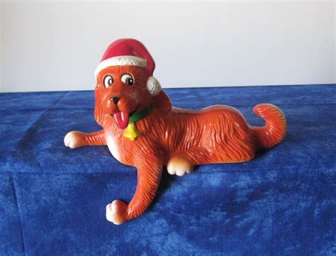 clifford the big red dog ornament clifford the big decoration figurine from 1982 ebay