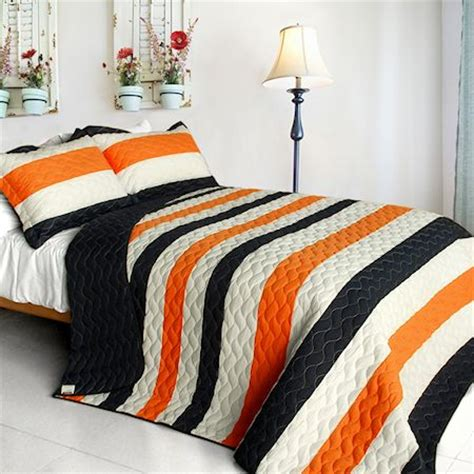 orange and white comforter 95 modern black white orange teen boy bedding full queen