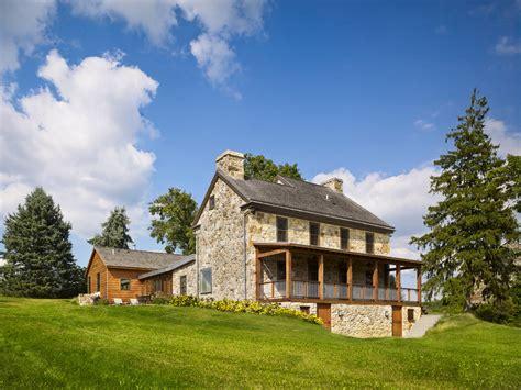 stone farmhouse plans shocking brick veneer decorating ideas