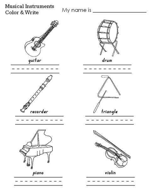 instrument family coloring page free instrument family coloring pages