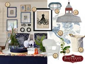 marine home decor nautical inspired coastal cottage living room blog