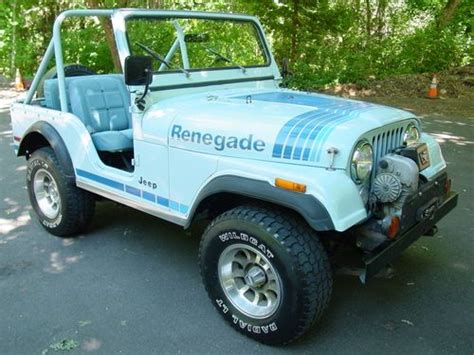 1979 Jeep Renegade For Sale Purchase Used 1979 Jeep Cj5 Renegade 1 Owner Only 62k