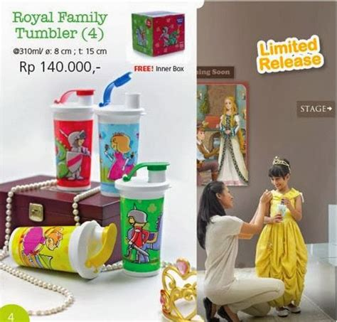 Royal Family Tupperware royal family tumbler 4 tupperware indonesia promo