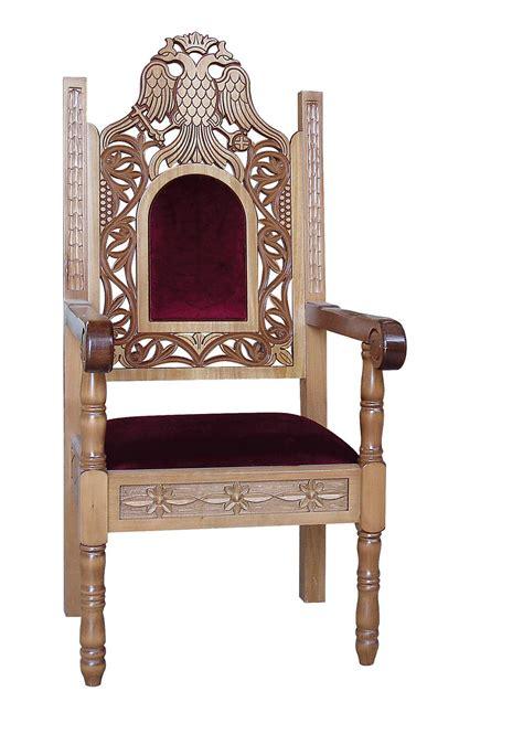 bishop chairs alpha omega church supplies orthodox ecclesiastical