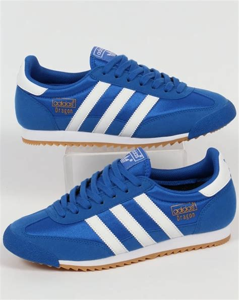 adidas trainers blue white originals shoes og mens