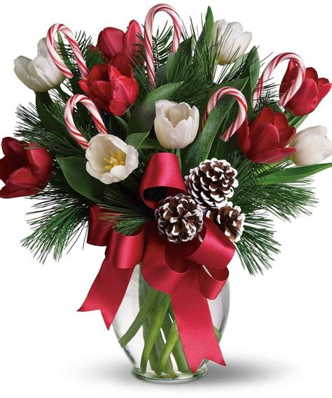 best 25 christmas flower arrangements ideas on pinterest