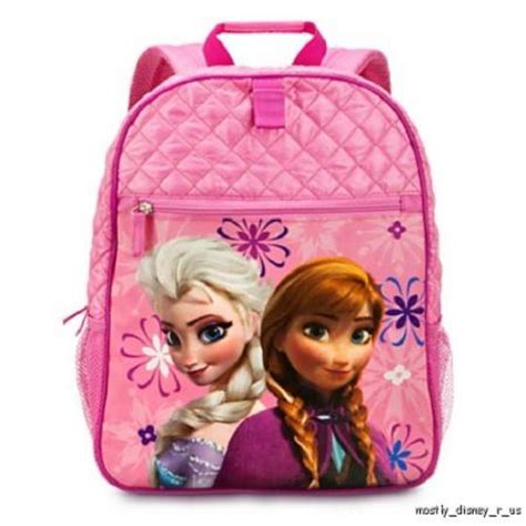 Murahfrozen Backpack Original Disney Usa new disney store exclusive frozen elsa backpack book bag tote ebay
