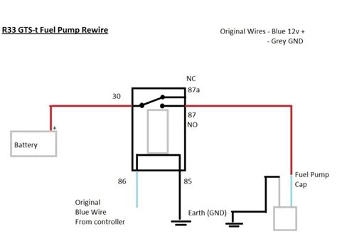 fuel relay wiring diagram how to rewire install fuel