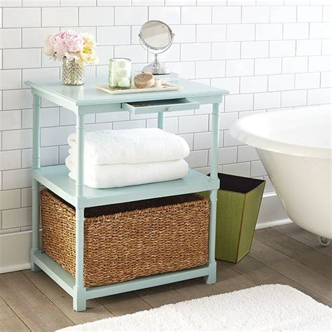 bathroom side table side table changing my marbles