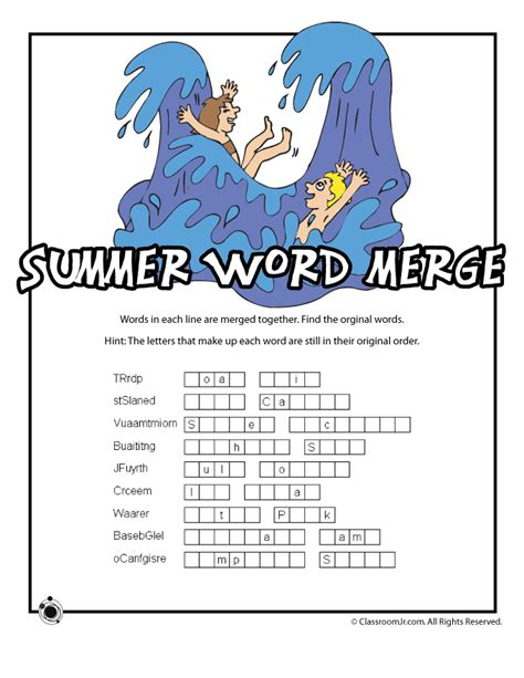 printable word code games free printable summer word games word search word