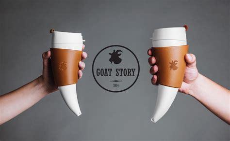 Goat Story Coffee Mug 470 Ml 16oz goat story goat mug 山羊角咖啡杯16oz 470ml 便利當家homebuy