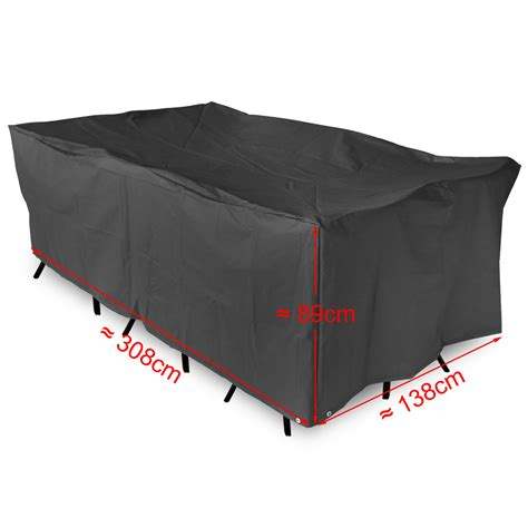 large furniture cover waterproof outdoor for rectangular