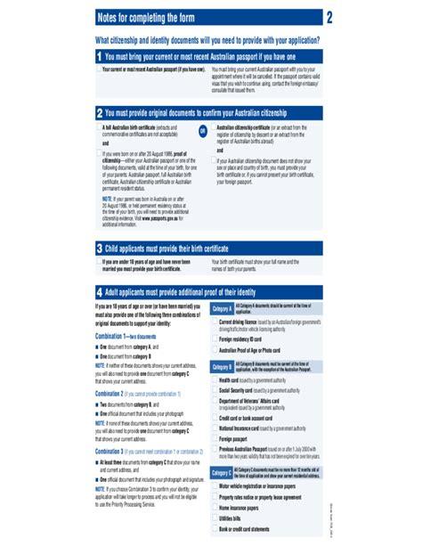 Resume Application For Australian Passport Application For Australian Passport Free