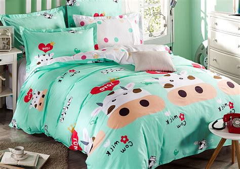 cow bedding cow bedding set shop popular cow print bedding from china aliexpress compare prices