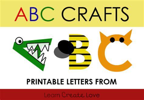 printable alphabet crafts printable alphabet for crafts