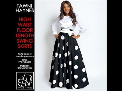 floor length high waist swing skirt tawni haynes floor length high waist swing skirt