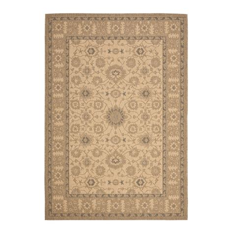 Outdoor Rug Lowes Safavieh Cy6126 39 Courtyard Indoor Outdoor Area Rug Gold Lowe S Canada