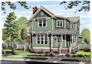 Country Cottage House Plans With Porches House Plan 30501 At Familyhomeplans Com