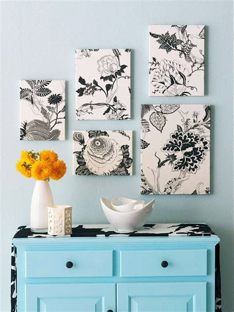 fabric home decor ideas no paint wall ideas to splash your condo