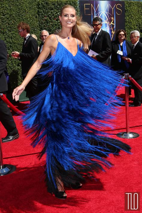 Project Runway Scandalous Controversy by Heidi Klum In At The 2014 Creative Arts Emmy