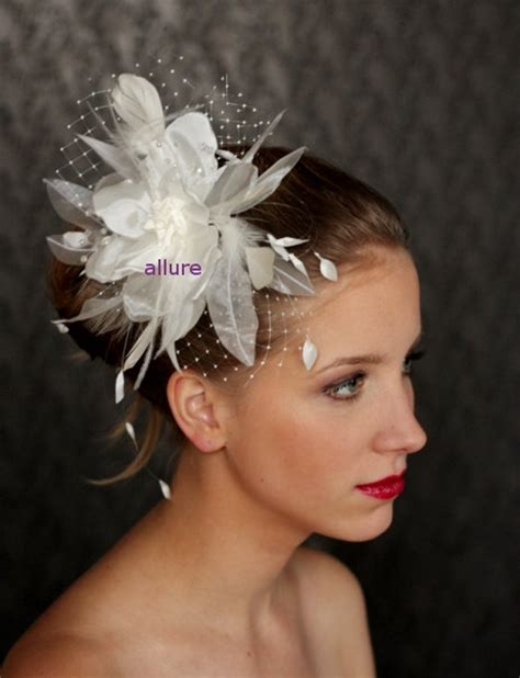 Wedding Hair With Veil And Flower by Wedding Hair Flower With Veil Fabulous Wedding