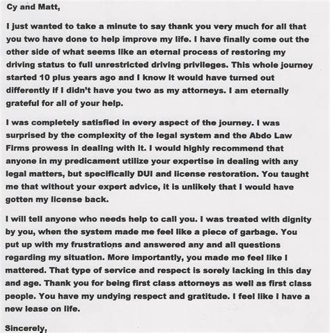 Character Reference Letter Driver S License exle of testimonial letter for firearm license cover