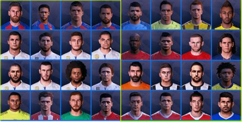 tattoo pack pes 2017 pte patch 6 0 pes 2017 mega 402 tattoo pack 460 faces by bms pes patch