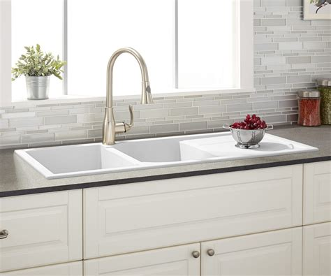 large farmhouse sink 33 drop in farmhouse sink in grande overflow shop