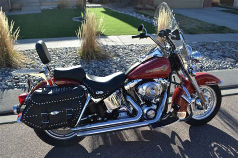 Harley Davidson Firefighter by 2005 Harley Davidson Heritage Softail Classic Firefighter