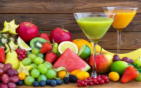 fruit juice effects of a vegetable fruit juice based diet on the human